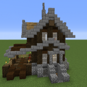 Small Survival Victorian House