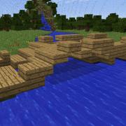 Small Wooden Bridge Ruins