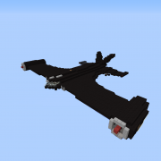 Stealth Bomber with TNT Bombs