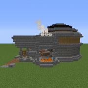 Steampunk Fantasy Blacksmith