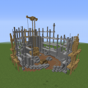 Steampunk Industrial Construction Site