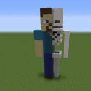 Steve Anatomy Statue