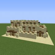 Unfurnished Sandstone Mansion