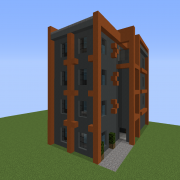 Urban Modernist Small Apartment Building 5