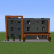 Urban Modernist Small Apartment Building 7