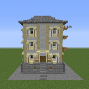 Victorian Town Building 2