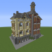 Victorian Town Building 4