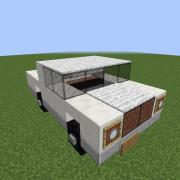 White Pickup Truck