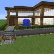 Wooden Survival House 2