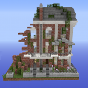 Zombie Apocalypse Building Ruin